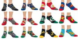 The Flash, Batman, Robin, Joker, Superman, Green Lantern Dc Comics Ankle... - $3.99