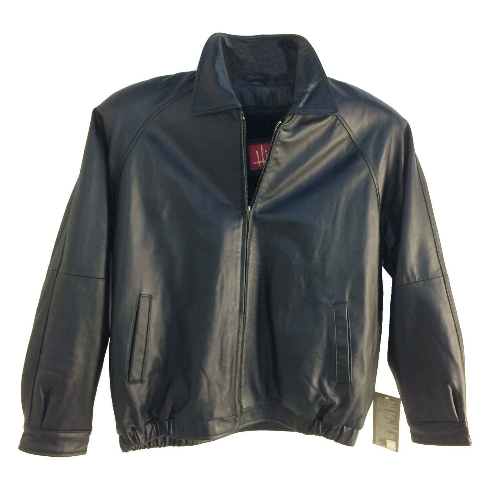 Assorted Brands ,Vintage, Men's Genuine Leather Bomber (Short) Jacket, Group-2 image 2