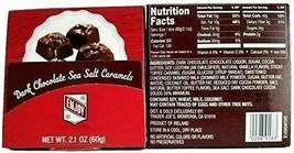Trader Joe's Dark Chocolate Sea Salt Caramels Gift Card Box 2.1 oz (1 Pack) - $8.90
