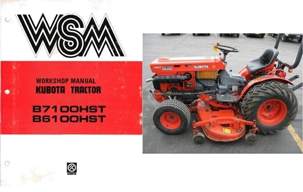 Kubota b7100hst b6100hst b7100 b6100 hst and 50 similar items kubota b7100hst b6100hst b7100 b6100 hst tractor wsm service manual on a cd fandeluxe Choice Image