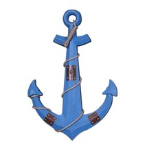 Hanging Decoration Anchor Mediterranean Style   blue - $64.14
