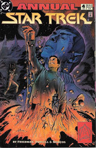 Classic Star Trek Comic Book Annual #4, Dc Series 2 Very FINE/NEAR Mint 1993 New - $4.99