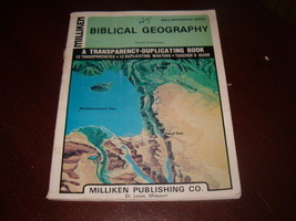 Biblical Geography Bible Background Series---1976-Milliken--12 Transpare... - $9.49