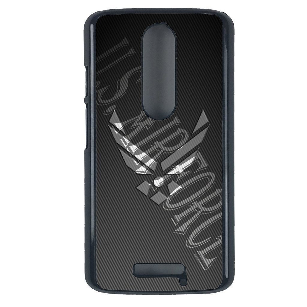 Air Force Motorola Moto G3 case Customized premium plastic phone case, design #1