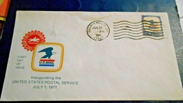 Malden Bridge NY, 1st Day Inaugerating USPS Envelope,Jul 1 1971, 8 cent ... - $3.95