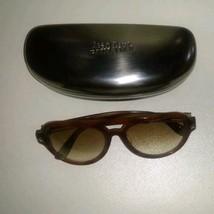 Jean Paul Gaultier Vintage Sunglasses Men's 59-0128 No Lens Brown Rare Used - $322.73
