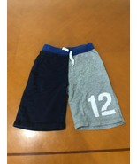 Boys Kids The Children's Place Gray & Blue # 12 Sweat Shorts Size 5-6 - $3.95