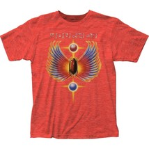 Journey Hits Beatle Heather Red T-Shirt Officially Licensed Band Tee S-M... - $20.00