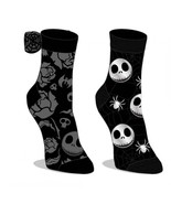 Nightmare Before Xmas Grey And 2-Pack Sock Set Black - $17.98
