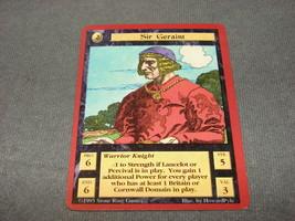 Quest For the Grail 1995 CCG: Warrior Knight - Sir Geraint - $11.00
