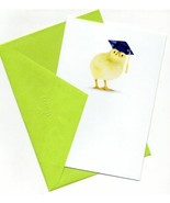 Happy Graduation Wishes Greeting Card Little Chick - $6.61