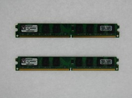 4gb Kit (2x2gb) Kingston Ddr2-667mhz Ktd-Dm8400b/2g bajo Perfil - $48.06