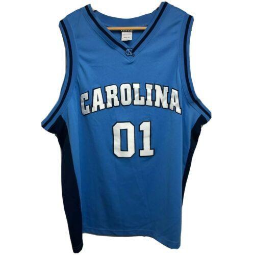 Foot Locker Basketball Jersey Men's XL Blue UNC North Carolina Tar Heels NCAA 01 - $12.61