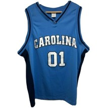 Foot Locker Basketball Jersey Men's XL Blue UNC North Carolina Tar Heels... - $12.61