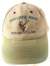 Elks Lodge 2645 Queen City MD Maryland Well Worn Distressed Strapback Ca... - $7.71