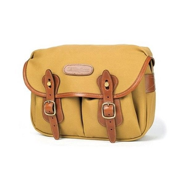 Billingham Hadley Small KHAKI Fiberenyte/ TAN Trim DSLR Camera Shoulder Bag NEW
