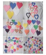 800 Pieces Random Mix Die Cut Hearts-Valentine's Day-Construction Paper,... - $24.00