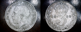 1920 Great Britain 3 Pence  World Silver Coin - UK - $7.49