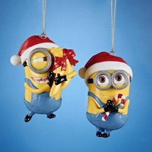 Carl and  Dave- Despicable Me-Minion Ornaments-Set of 2 - $14.79