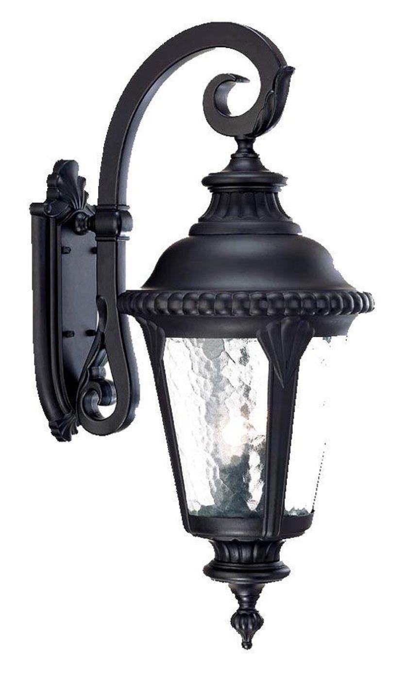 Acclaim 7222BK Surrey Collection 3 Light Wall Mount Outdoor Light Fixture Black - $100.00
