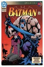 Batman #498 1993 Comic book-BANE-CATWOMAN Dc VF/NM - $18.62