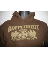 Vintage Independent Truck Company Skate Hoodie Hooded Sweatshirt Youth L... - $24.99