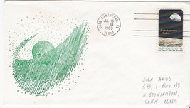 APOLLO 11 LAUNCH CAPE CANAVERAL FLORIDA JULY 16 1969 SOKOLSKY CACHET - $2.68