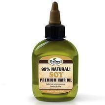 Difeel Sunflower Premium Natural Hair Oil, Soy, 2.5 Ounce - $5.49