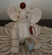 "LENOX Elephant Figurine/Shelf Sitter ~ ""Teacher's Pet"" ~ 4"" Tall - $39.60"