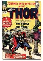 JOURNEY INTO MYSTERY #105 1964- SILVER AGE MARVEL--THOR--VF - $212.19