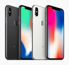 "Apple iPhone X - 64GB | 256GB 4G LTE (FACTORY UNLOCKED) 5.8"" Display Smartphone"