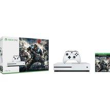 Microsoft Xbox One S Gears of War 4 1TB Console Bundle - White - $455.95