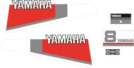 YAMAHA 8 - Outboard decal set, reproduction - $27.00