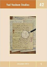 Yad Vashem Studies Volume 42 (Paperback) - $13.49