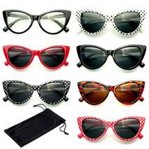 Clásico Cat Eye Gafas de Sol Pequeño Retro Vintage Moda Mujer Gafas de C... - $4.48+