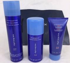 Mary Kay Velocity For Him Gift Set Shave Cream Shave Gel Body Spray Gift... - $29.59