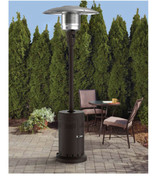 Mainstays Large Outdoor Patio Heater Powder Coat Brown Brand New - $69.29
