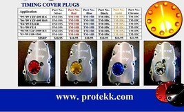 Protek Oil Pump Timing Cover Plug Yamaha 2004 2005 2006 2007 2008 YZF-R1 R1 R-1 - $9.88