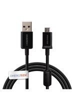 USB DATA CABLE AND BATTERY CHARGER LEAD   FOR   SONY MDR-AS800BTB Wirele... - $4.99