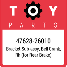 47628-26010 Toyota Bracket, New Genuine OEM Part - $24.89