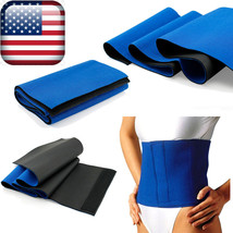 Waist Trimmer Exercise Wrap Belt Slimming Burn Fat Sweat Weight Loss Bod... - $11.99