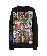 WE11DONE Printed Long Sleeve Movie Collage Cotton-jersey Top Sweatshirt ... - $225.00