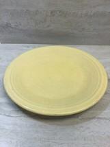 "Fiesta Homer Laughlin Sunflower Yellow 10.5"" Dinner Plate USED SEE PICS - $19.79"