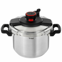 T-Fal Clipso 6 L (6.3 qt.) Stainless Steel Pressure Cooker - $109.13