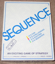 SEQUENCE GAME STRATEGY GAME 1995 JAX COMPLETE EXCELLENT - $15.00