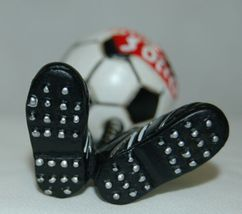 Midwest CBK Soccerball Shoes Bobble Christmas Ornament All Star 2 Set image 4