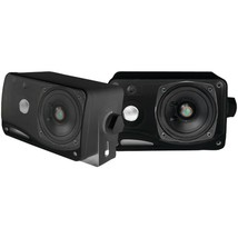 Pyle PLMR24B Hydra Series 3.5 200-Watt 3-Way Weatherproof Mini-Box Speak... - $55.65 CAD