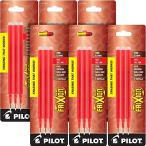 Pilot Gel Ink Refills for FriXion Erasable Gel Ink Pen, Fine Point, Red ... - $22.13