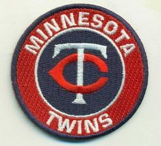 MINNESOTA TWINS  iron on embroidered embroidery patch baseball  logo mlb homerun - $10.95