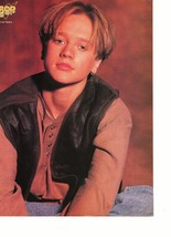 Devon Sawa teen magazine pinup clipping wow what a face 1990's Bop Casper